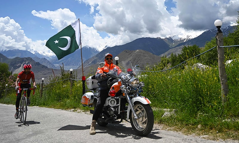Tour de Khunjerab 2019: one of the highest altitude cycling competitions is underway in GB