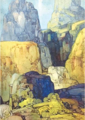 Untitled (1952), Ustad Allah Bukhsh