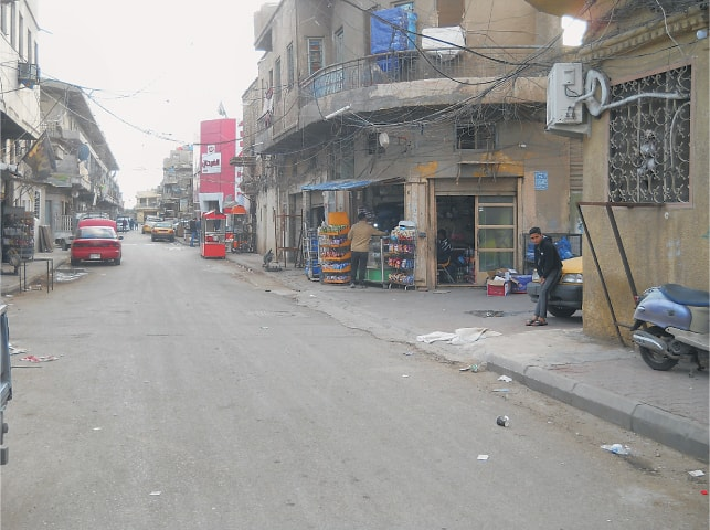 The resilient half-century old neighbourhood shop in Arzrumli, Baghdad