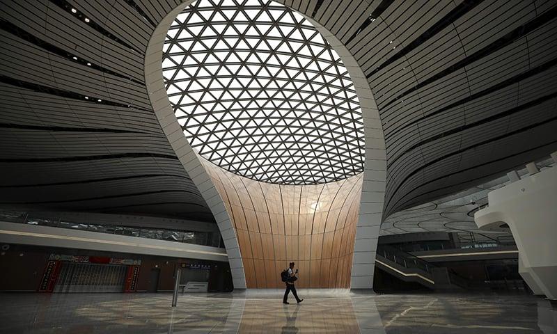 اس ایئرپورٹ کا باضابطہ افتتاح رواں برس 30 ستمبر کو کیا جائے گا — فوٹو: اے ایف پی