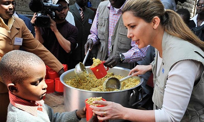 شہزادی حیا سماجی کاموں کے لیے اقوام متحدہ کے ساتھ مل کر کام کرتی رہی ہیں—فوٹو: پرنس حیا ڈاٹ نیٹ