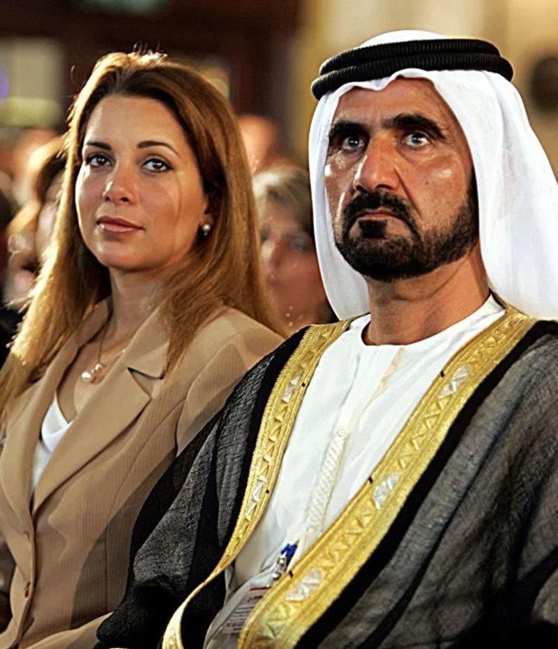 شہزادی حیا کو شوہر کے ساتھ تقریبات میں دیکھا جاتا رہا ہے—فوٹو: اے ایف پی