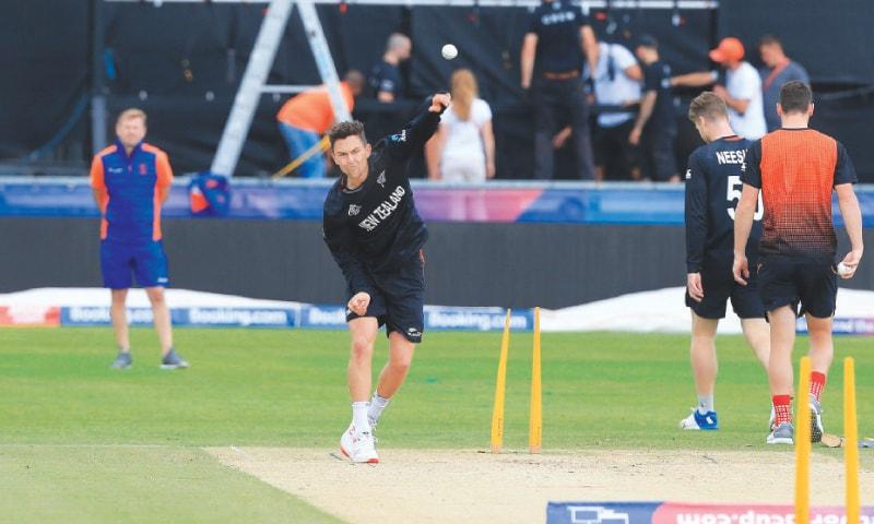 نیوزی لینڈ کے کھلاڑی بھرپور تیاری کے ساتھ انگلینڈ کے خلاف آج میدان میں اتریں گے—اے ایف پی