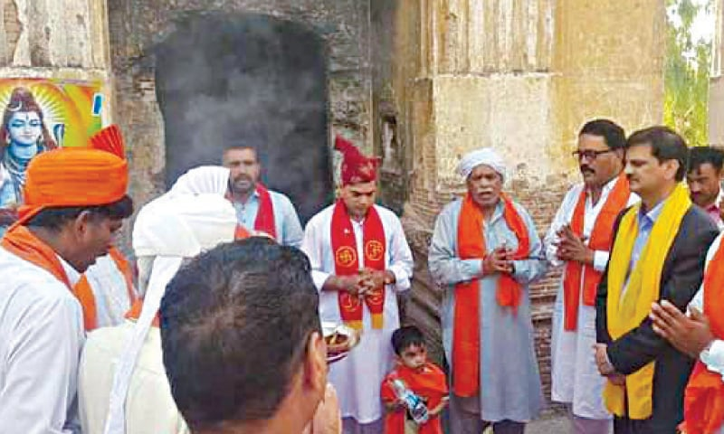 Historic temple reopens in Sialkot after 72 years