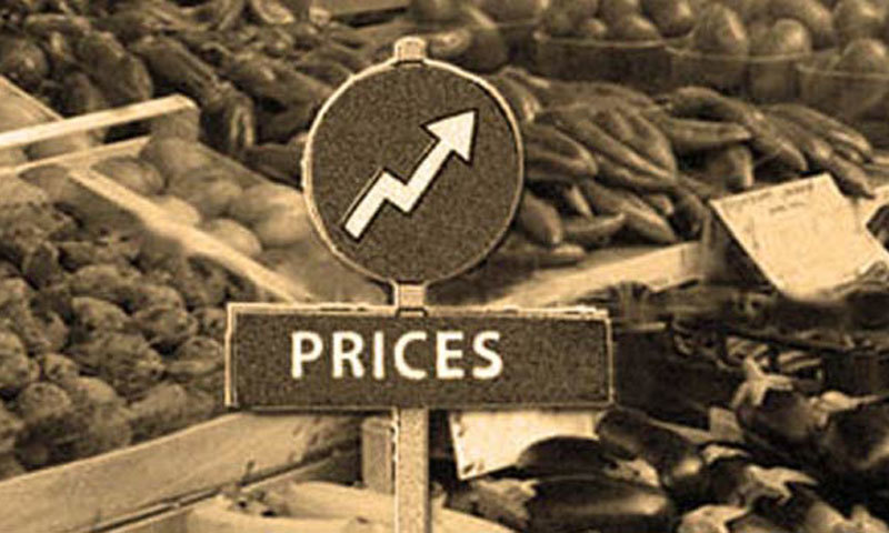The average inflation between July-June FY10 rose to 7.34pc , from 3.92pc - the highest since 2013-14. — Dawn/File