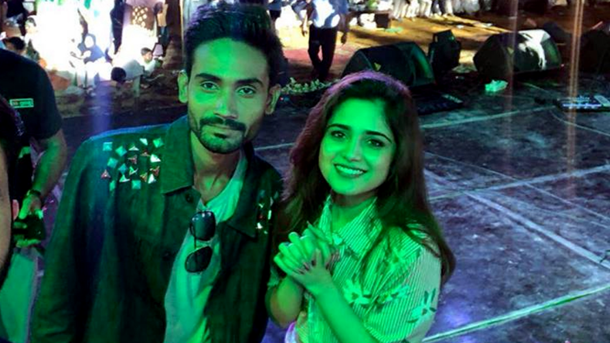 Muhammad Arif opened for Aima Baig's Independence Day concert.