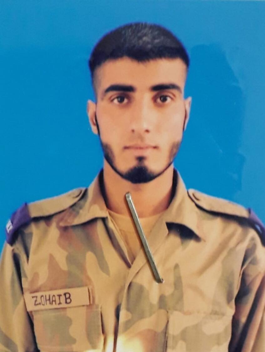 Sepoy Zohaib. — ISPR photo