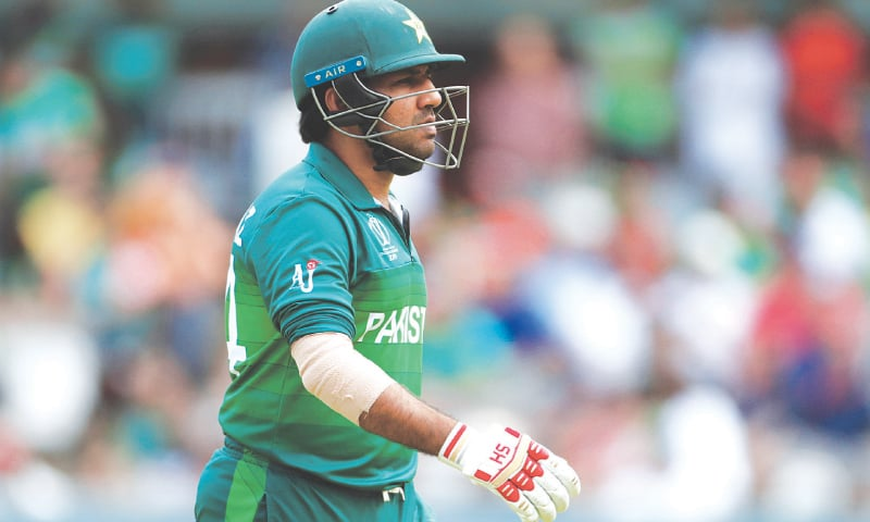 HEAD coach credits captain Sarfraz Ahmed for Pakistan's strong finish. — Reuters