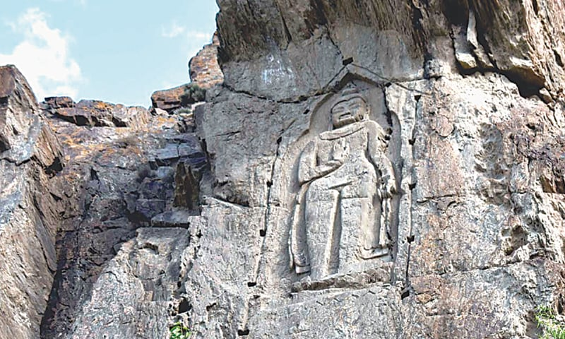 Buddhist treasure in Gilgit cries out for  govt's attention