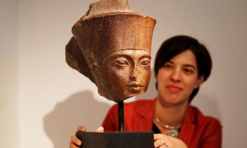 مجسمے کو 95 کروڑ روپے میں فروخت کیا گیا تھا—فوٹو: رائٹرز