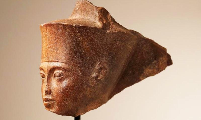 آکشن ہاؤس نے مجسمے کی فروخت پر مصری حکام کے خدشات مسترد کردیے—فوٹو: رائٹرز