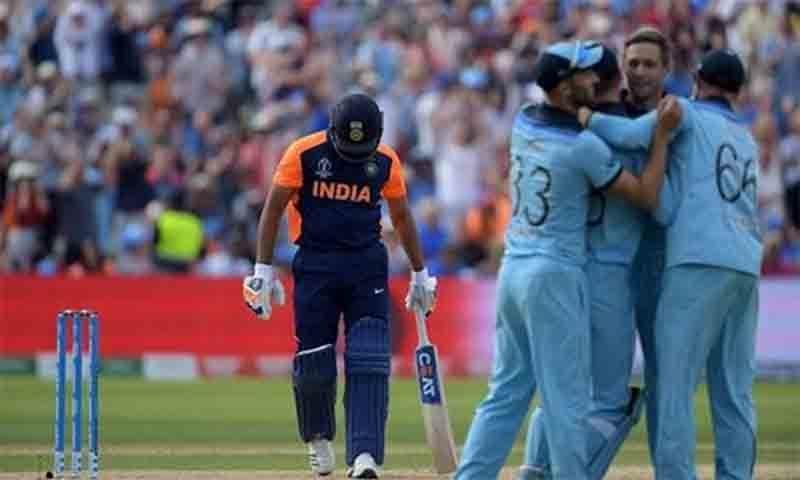 ورلڈ کپ 2019ء میں کھیلے گئے 9 میچوں میں بھارت کو صرف انگلینڈ کے شکست کا منہ دیکھنا پڑا