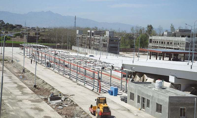 Another Peshawar BRT completion deadline