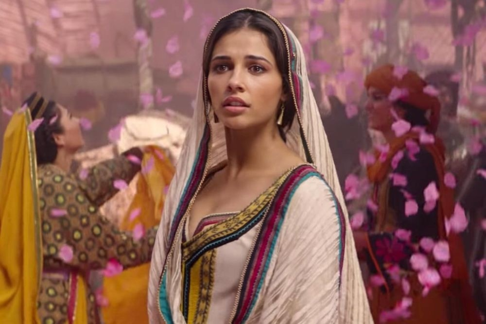 Naomi Scott is fierce as Jasmine