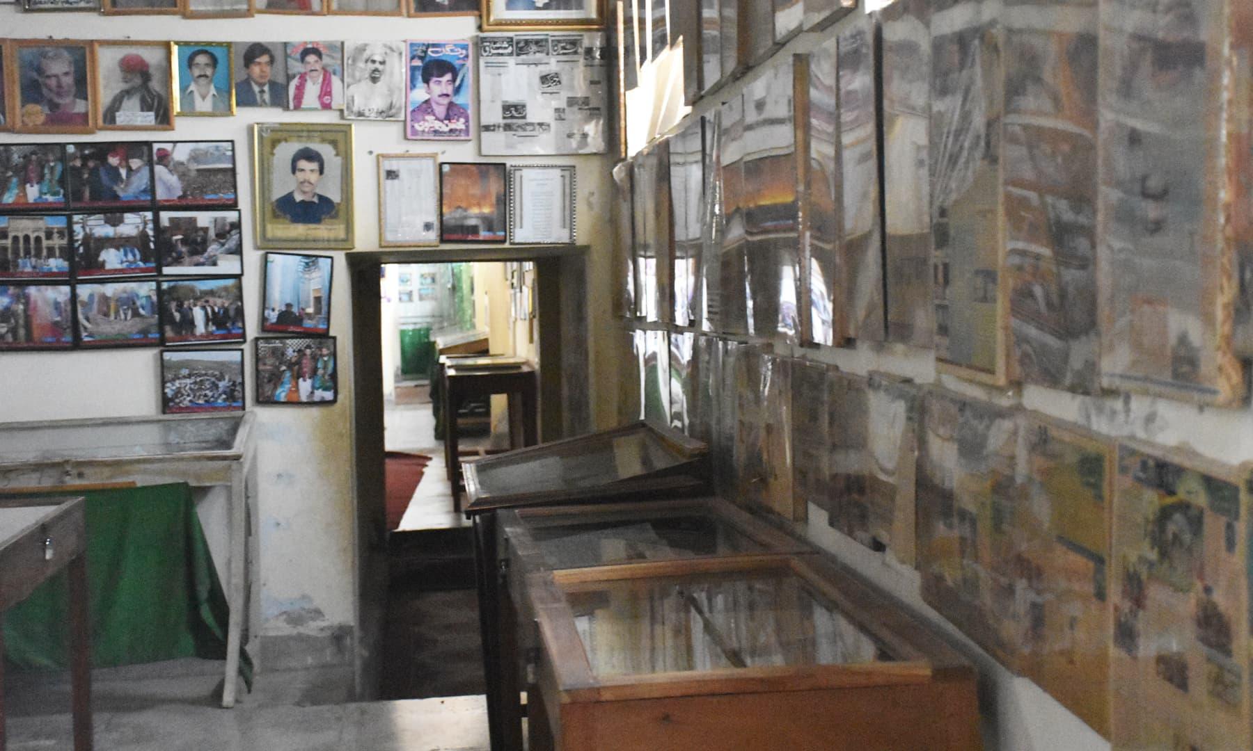 میوزیم کا ایک کمرہ—تصویر رمضان رفیق
