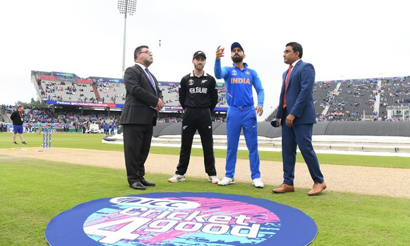 New Zealand are coming into the match having lost three straight group stage matches while India topped the group-stage standings.— Photo courtesy ICC Twitter