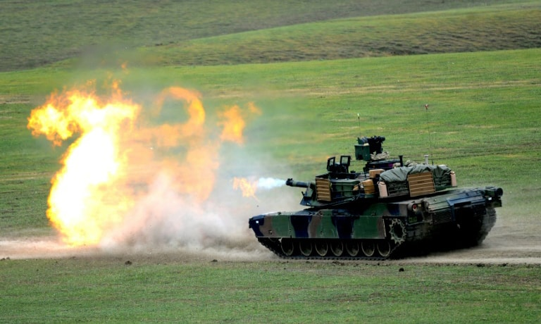 Taiwan has said M1A2 Abrams battle tanks would greatly enhance its defensive capabilities. — AFP/File