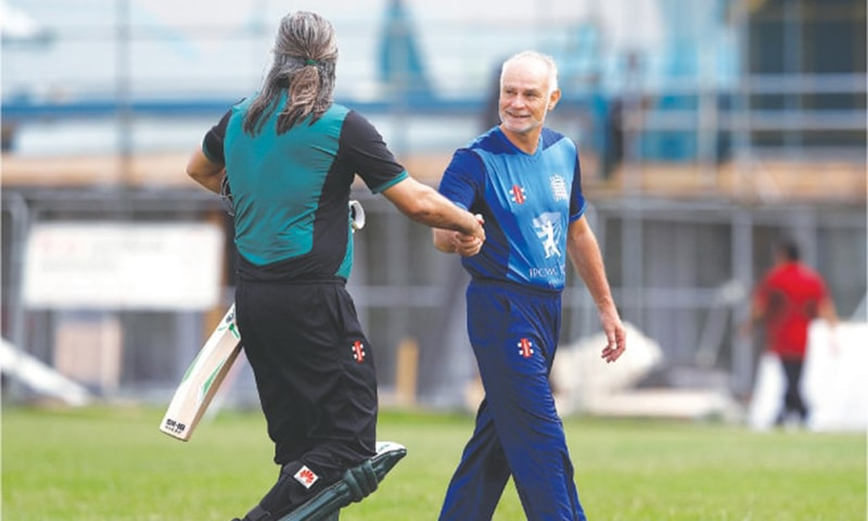 Lawmakers take to the field in first parliamentary cricket world cup