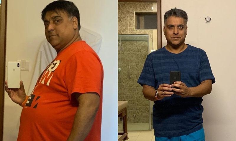 اداکار نے اپنی حیران کن تبدیلی کی تصاویر شیئر کی —فوٹو/ اسکرین شاٹ