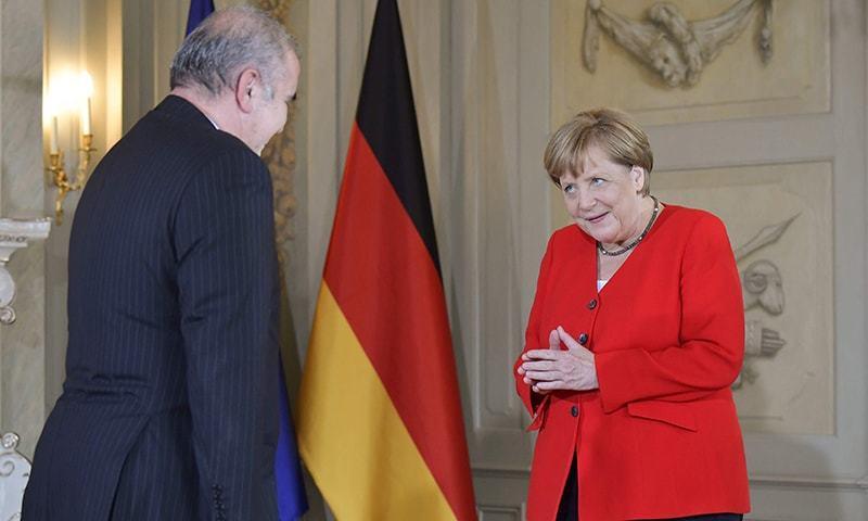 برطانیہ، فرانس اور جرمنی تینوں یورپی ممالک سمیت روس اور چین نے بھی جوہری معاہدے پر دستخط کیے تھے—فائل فوٹو: رائٹرز