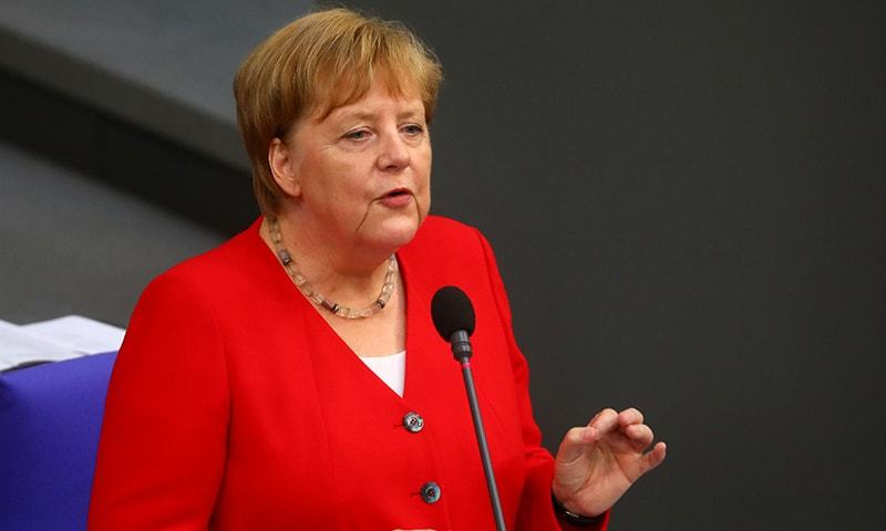 "German Chancellor Angela Merkel said she was ""working through"" a bout of shaking that first occurred in mid-June and struck for the third time on Wednesday. — Reuters/File"