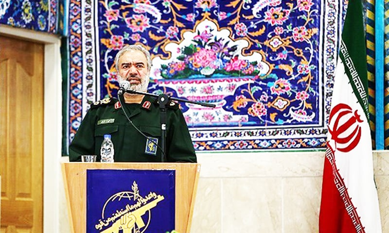 Rear Admiral Ali Fadavi, a deputy Revolutionary Guards commander. — Photo courtesy of Tassnim