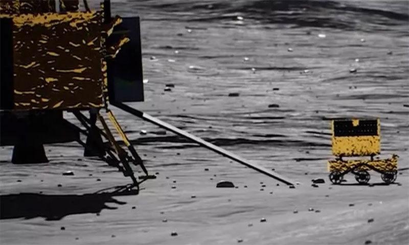 یہ مشن چاند کے قطب جنوبی پر جائے گا — فوٹو بشکریہ پی آئی بی انڈیا