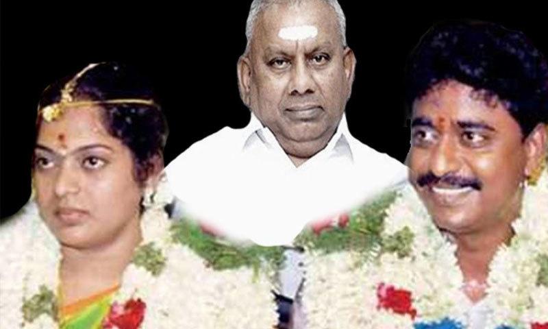 راج گوپال نے جیواجوتھی اور ان کے شوہر کو اغوا کروانے کے بعد ان کے شوہر کو قتل کروایا تھا—فوٹو: تامل نیوز ڈاٹ کام