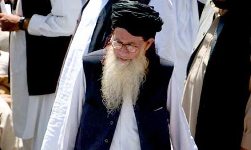 مولانا صوفی محمد کو آبائی قبرستان میں سپردخاک کیا گیا—فائل فوٹو: اے پی