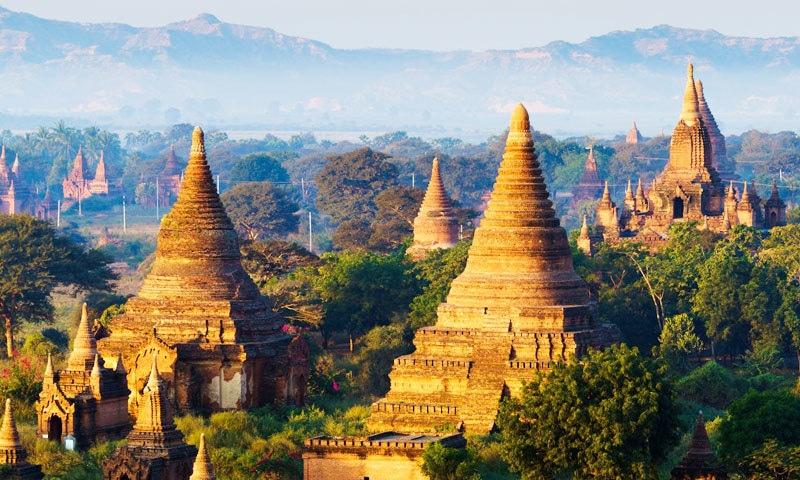 میانمار کا شہر باگان عالمی ثقافتی ورثے کی فہرست میں شامل ہے—اسکرین شاٹ/ یوٹیوب