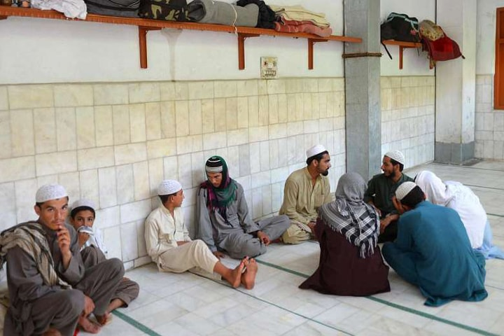 Seminaries have been accused of providing human resource to the Taliban movement | AFP