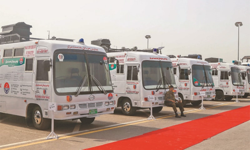 Mobile police service centres project inaugurated in Punjab
