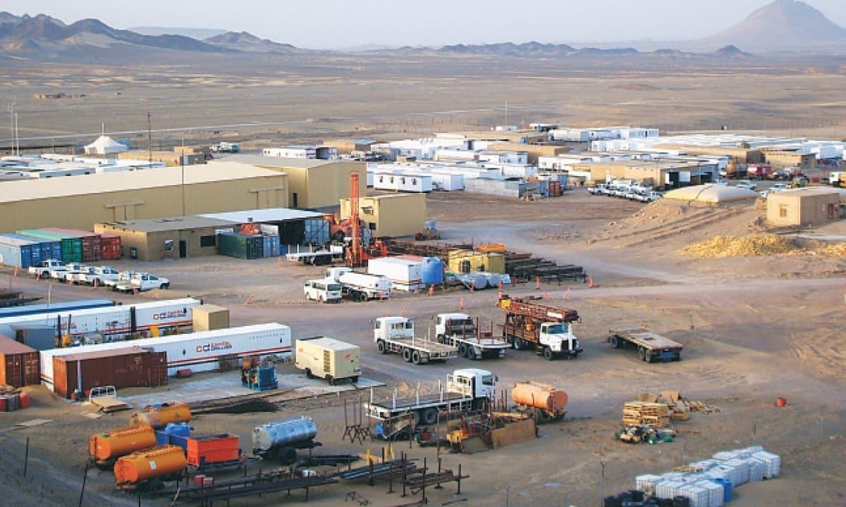 The Reko Diq project site. — Photo courtesy Tethyan Copper Company Pakistan/File