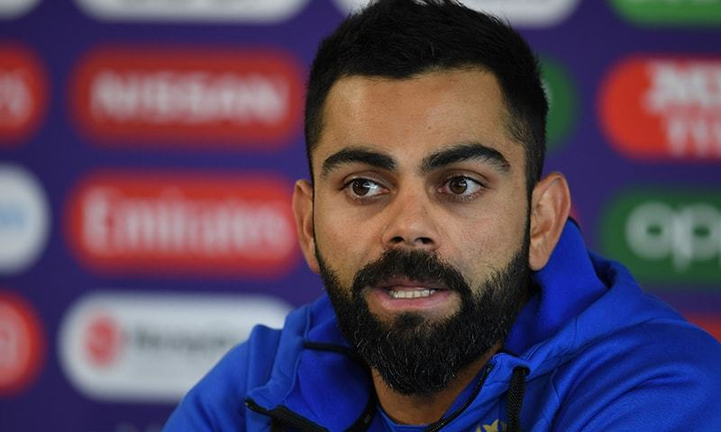 """""""It's been unfortunate to see this happen to you,"""" says Kohli. — AFP/File"""