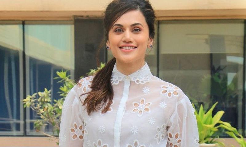 خوشی ہوگی اگر مجھے میتھالی راج کی زندگی پر بننے والی فلم میں کاسٹ کیا گیا، اداکارہ—فوٹو: ہندوستان ٹائمز