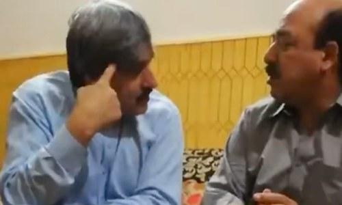 مسلم لیگ (ن) کی نائب صدر مریم نواز نے جج ارشد ملک کی ویڈیوز جاری کی تھیں — اسکرین شاٹ