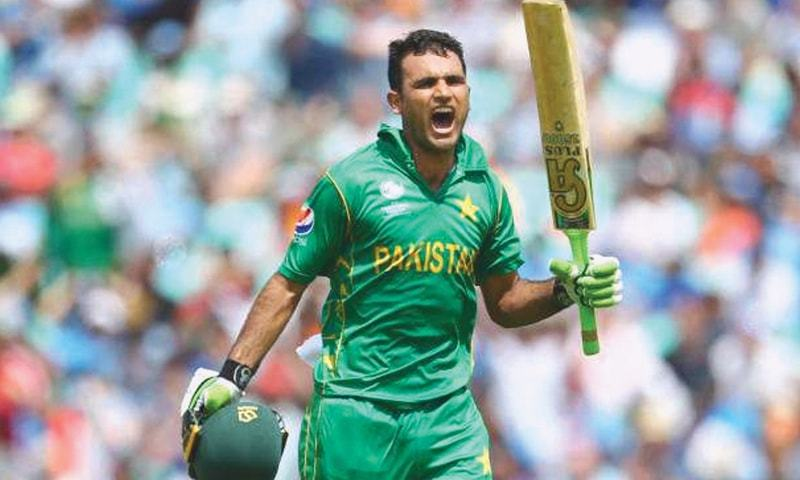 Lef-handed Fakhar has won 30 Twenty20 caps for Pakistan. — AFP/File