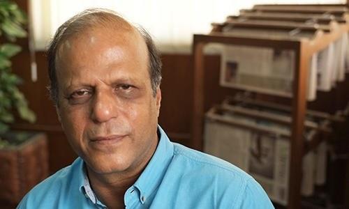 ظفر عباس 2006 میں ڈان سے منسلک ہوئے—فوٹو بشکریہ سی پی جے