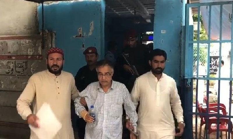 طارق محمود نے بتایا کہ وہ اہل خانہ کے ساتھ ملتان سے اسلام آباد آیا تھا اور گرفتار کرلیا گیا — فوٹو: ٹوئٹر