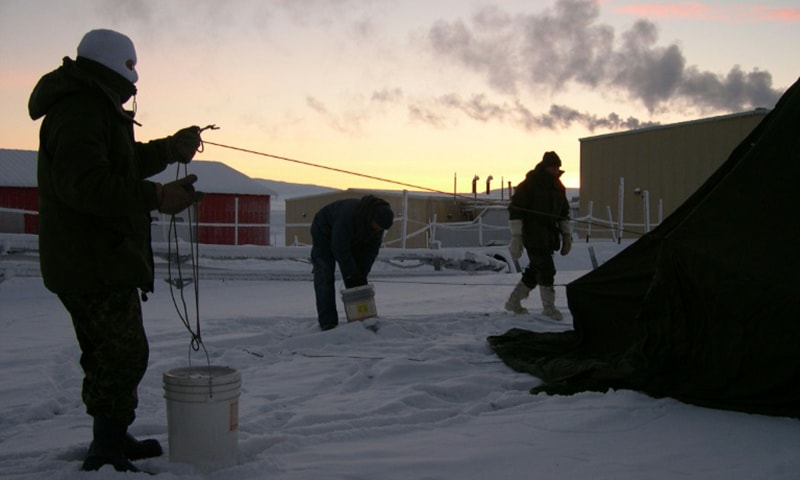 'Arctic heatwave' hits world's northernmost settlement