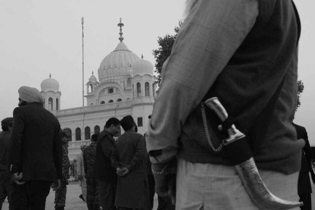 The gurudwara at Kartarpur.—Shome Basu