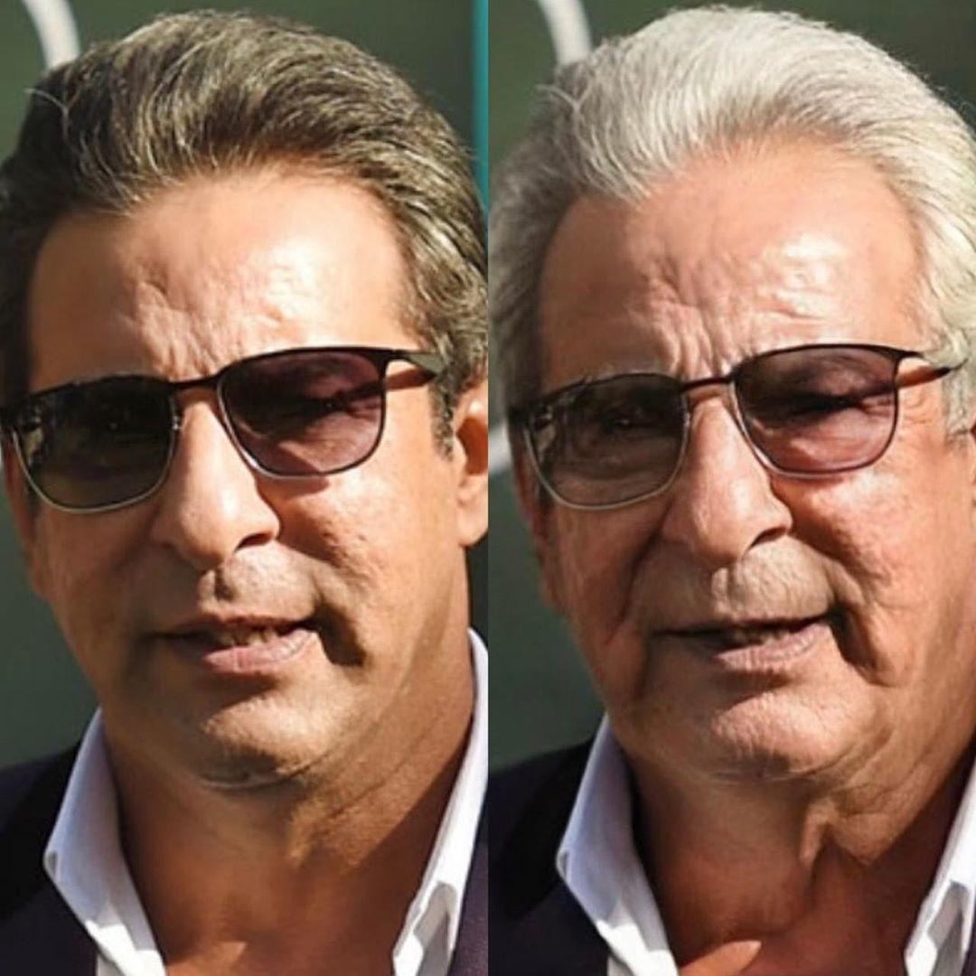 Wasim Akram didn't age a day