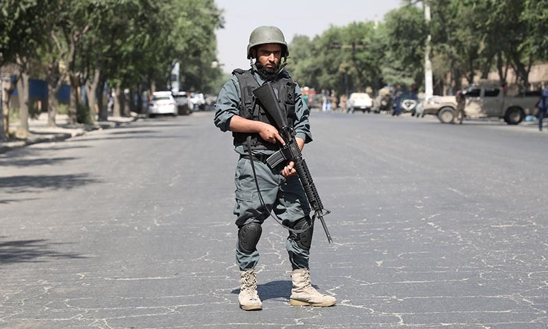 Blast near Afghan university kills 6, injures 27