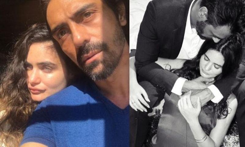 ارجن نے گزشتہ سال گبریئل سے تعلق کا اعلان کیا —فوٹو/ اسکرین شاٹ