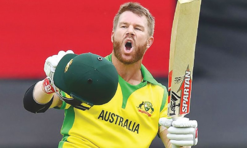 David Warner, the highest scorer