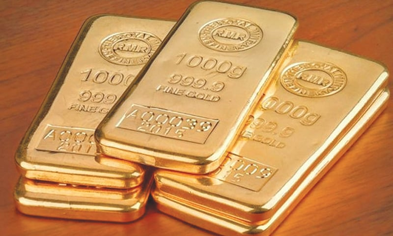 ASSA attributed local price hike to $16 per ounce rise in world gold rates to $1,438. — Dawn/File