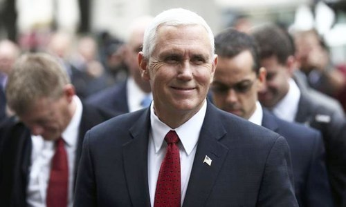"""In Pakistan, Junaid Hafeez remains in solitary confinement on unsubstantiated charges of blasphemy,"" says Pence. —AFP/File"
