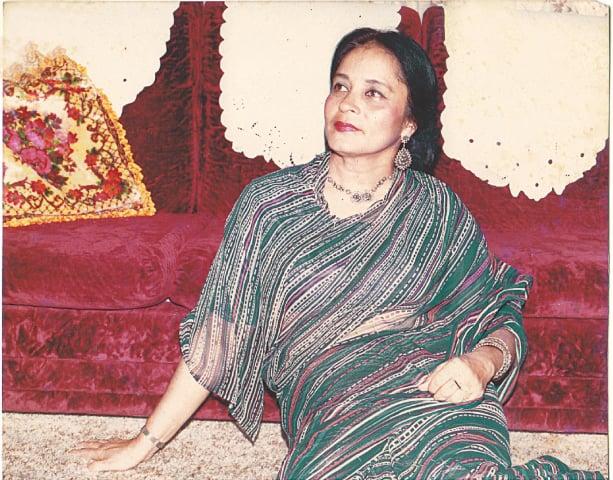 Zaheen Tahira during her younger days | Guddu Film Archive