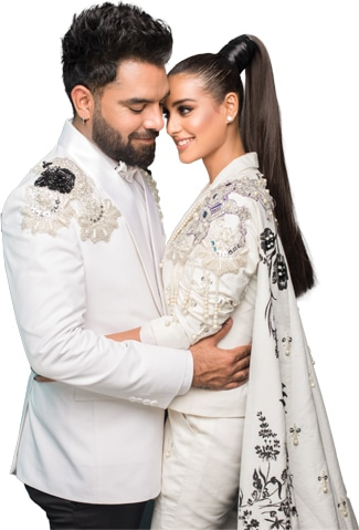 Photography: Shahbaz Shazi | Wardrobe: Ali Xeeshan | Yasir's grooming: Nadeem William from A-List | Iqra's Hair and Makeup: Waqar Hussain