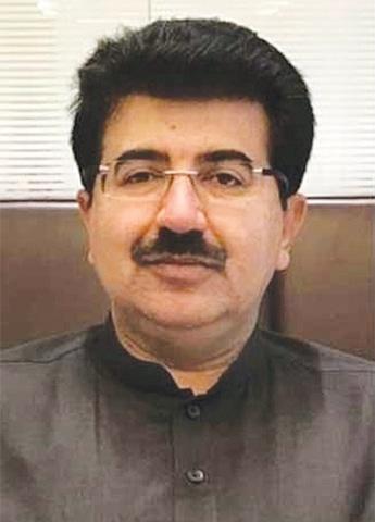 Senate Chairman Sadiq Sanjrani